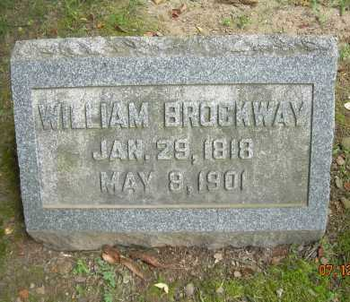 BROCKWAY, WILLIAM - Summit County, Ohio | WILLIAM BROCKWAY - Ohio Gravestone Photos