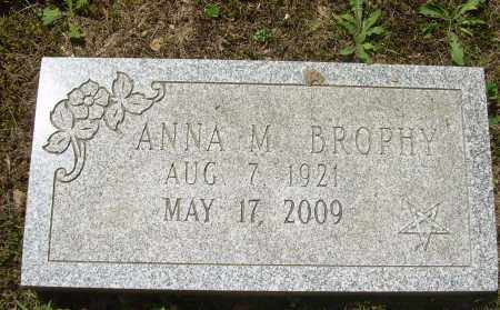BROPHY, ANNA M - Summit County, Ohio | ANNA M BROPHY - Ohio Gravestone Photos