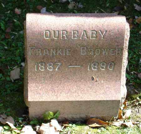 BROWER, FRANKIE - Summit County, Ohio | FRANKIE BROWER - Ohio Gravestone Photos