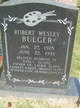 BULGAR, ROBERT WESLEY - Summit County, Ohio | ROBERT WESLEY BULGAR - Ohio Gravestone Photos