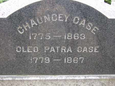 CASE, CLEO PATRA - Summit County, Ohio | CLEO PATRA CASE - Ohio Gravestone Photos