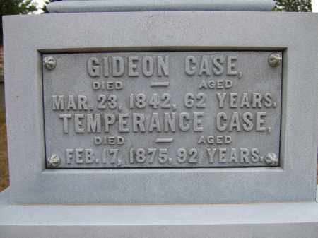 CASE, GIDEON - Summit County, Ohio | GIDEON CASE - Ohio Gravestone Photos
