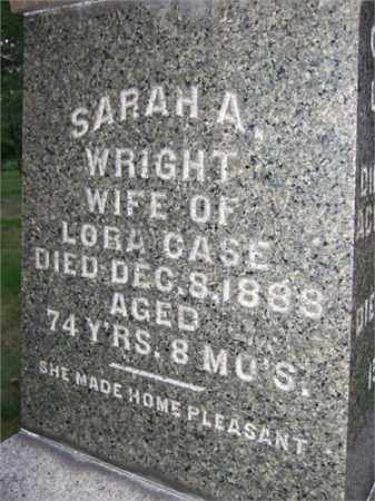 CASE, SARAH ANN - Summit County, Ohio | SARAH ANN CASE - Ohio Gravestone Photos
