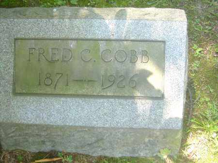 COBB, FRED C - Summit County, Ohio | FRED C COBB - Ohio Gravestone Photos