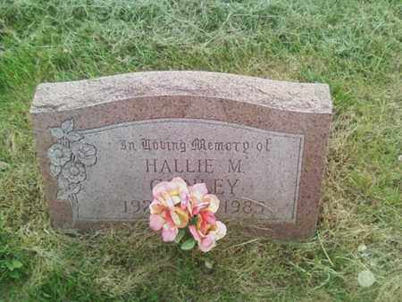 CONLEY, HALLIE - Summit County, Ohio | HALLIE CONLEY - Ohio Gravestone Photos