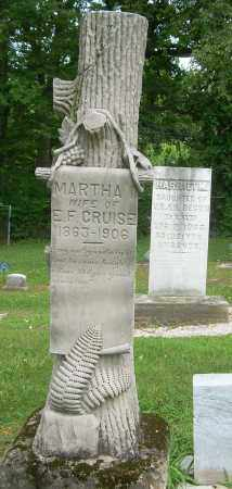 CRUISE, MARTHA I - Summit County, Ohio | MARTHA I CRUISE - Ohio Gravestone Photos