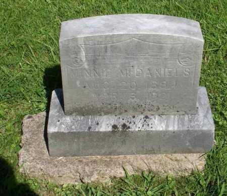 DANIELS, MINNIE M - Summit County, Ohio   MINNIE M DANIELS - Ohio Gravestone Photos