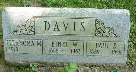 DAVIS, PAUL S - Summit County, Ohio | PAUL S DAVIS - Ohio Gravestone Photos