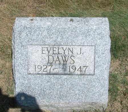 DAWS, EVELYN J - Summit County, Ohio | EVELYN J DAWS - Ohio Gravestone Photos