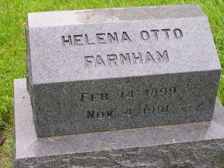 OTTO FARNHAM, HELENA - Summit County, Ohio | HELENA OTTO FARNHAM - Ohio Gravestone Photos