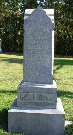 BATTLE HALLIWILL, ELIZABETH - Summit County, Ohio | ELIZABETH BATTLE HALLIWILL - Ohio Gravestone Photos