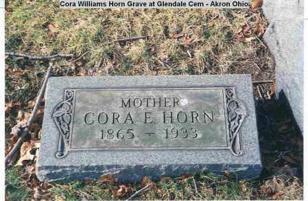 HORN, CORA ELIZA - Summit County, Ohio | CORA ELIZA HORN - Ohio Gravestone Photos