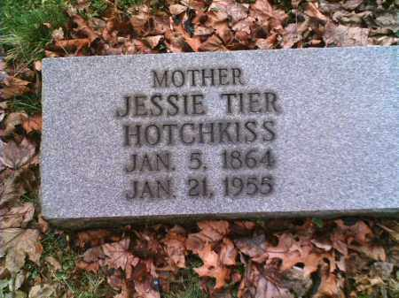 TIER HOTCHKISS, JESSIE - Summit County, Ohio | JESSIE TIER HOTCHKISS - Ohio Gravestone Photos
