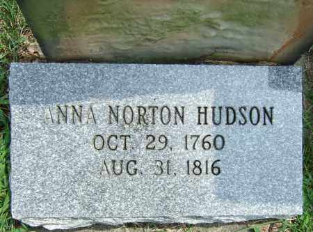 NORTON HUDSON, ANNA - Summit County, Ohio | ANNA NORTON HUDSON - Ohio Gravestone Photos