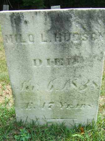 HUDSON, MILO LEE - Summit County, Ohio | MILO LEE HUDSON - Ohio Gravestone Photos