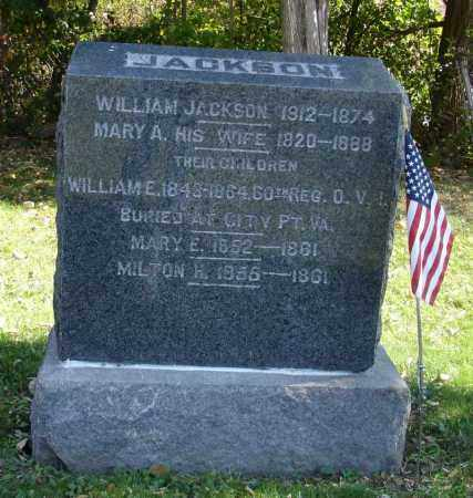 JACKSON, WILLIAM - Summit County, Ohio | WILLIAM JACKSON - Ohio Gravestone Photos