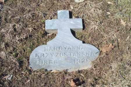 KRZYZOSTANSKI, MARCYANNA - Summit County, Ohio | MARCYANNA KRZYZOSTANSKI - Ohio Gravestone Photos