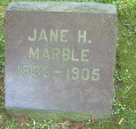 MARBLE, JANE - Summit County, Ohio | JANE MARBLE - Ohio Gravestone Photos