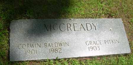 MCCREADY, CORWIN BALDWIN - Summit County, Ohio | CORWIN BALDWIN MCCREADY - Ohio Gravestone Photos