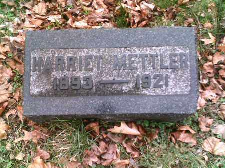 HOTCHKISS METTLER, HARRIET - Summit County, Ohio | HARRIET HOTCHKISS METTLER - Ohio Gravestone Photos