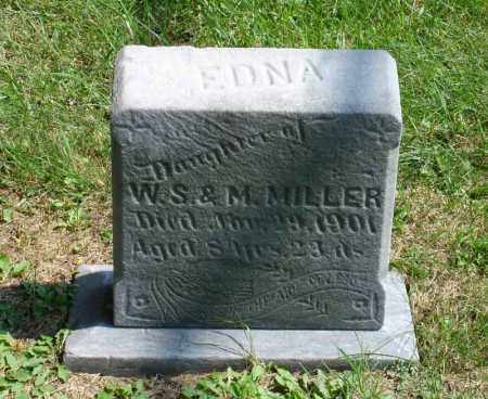 MILLER, EDNA - Summit County, Ohio | EDNA MILLER - Ohio Gravestone Photos