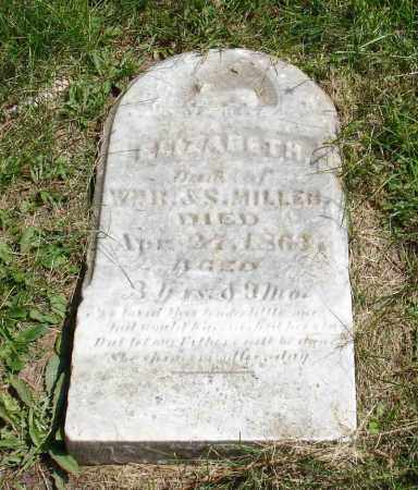 MILLER, ELIZABETH - Summit County, Ohio | ELIZABETH MILLER - Ohio Gravestone Photos