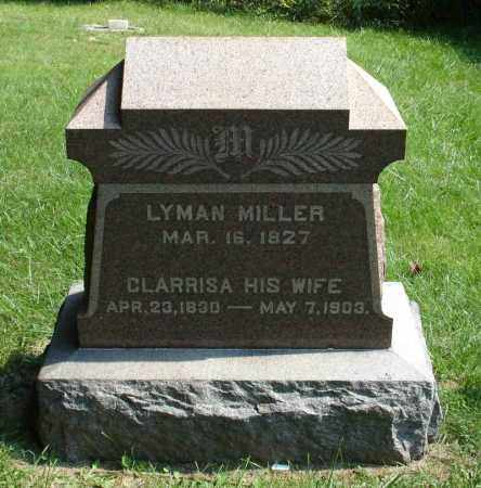 MILLER, LYMAN - Summit County, Ohio | LYMAN MILLER - Ohio Gravestone Photos