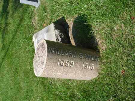 MILLER, WILLARD S - Summit County, Ohio | WILLARD S MILLER - Ohio Gravestone Photos