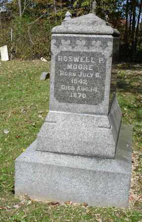 MOORE, ROSWELL P - Summit County, Ohio   ROSWELL P MOORE - Ohio Gravestone Photos