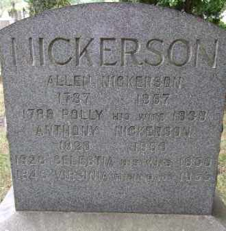 NICKERSON, CELESTIA - Summit County, Ohio | CELESTIA NICKERSON - Ohio Gravestone Photos