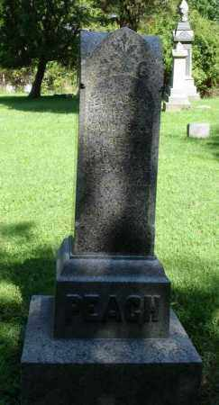 PEACH, ELIZABETH - Summit County, Ohio | ELIZABETH PEACH - Ohio Gravestone Photos