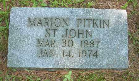 PITKIN, MARION - Summit County, Ohio | MARION PITKIN - Ohio Gravestone Photos