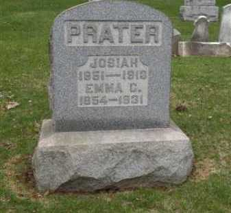 PRATER, EMMA C. - Summit County, Ohio | EMMA C. PRATER - Ohio Gravestone Photos