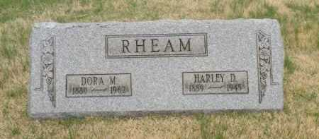 RHEAM, DORA M. - Summit County, Ohio | DORA M. RHEAM - Ohio Gravestone Photos