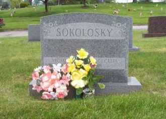 SOKOLOSKY, VICTOR - Summit County, Ohio | VICTOR SOKOLOSKY - Ohio Gravestone Photos