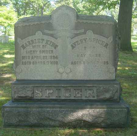 SPICER, HARRIET - Summit County, Ohio | HARRIET SPICER - Ohio Gravestone Photos