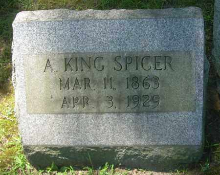 SPICER, A KING - Summit County, Ohio | A KING SPICER - Ohio Gravestone Photos