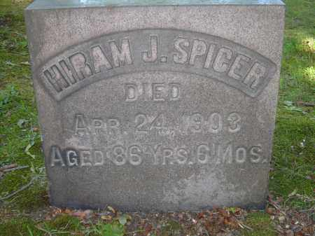 SPICER, HIRAM J - Summit County, Ohio | HIRAM J SPICER - Ohio Gravestone Photos
