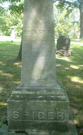 SPICER, MINER - Summit County, Ohio   MINER SPICER - Ohio Gravestone Photos
