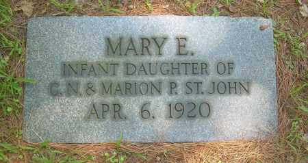 ST JOHN, MARY E - Summit County, Ohio | MARY E ST JOHN - Ohio Gravestone Photos