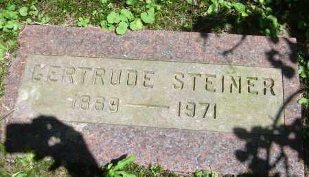STEINER, GERTRUDE - Summit County, Ohio | GERTRUDE STEINER - Ohio Gravestone Photos