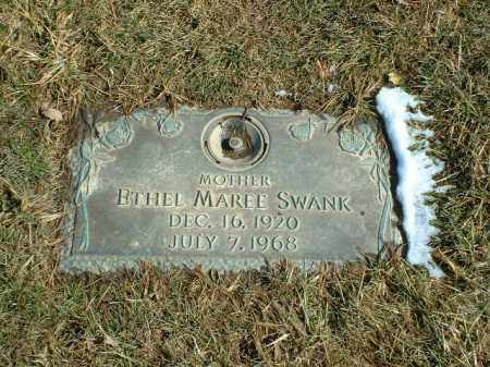 SNYDER SWANK, ETHEL MAREE - Summit County, Ohio | ETHEL MAREE SNYDER SWANK - Ohio Gravestone Photos