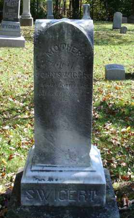 SWIGERT, UNKNOWN - Summit County, Ohio | UNKNOWN SWIGERT - Ohio Gravestone Photos