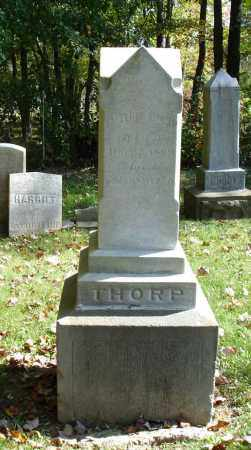 THORP, EMELINE - Summit County, Ohio | EMELINE THORP - Ohio Gravestone Photos