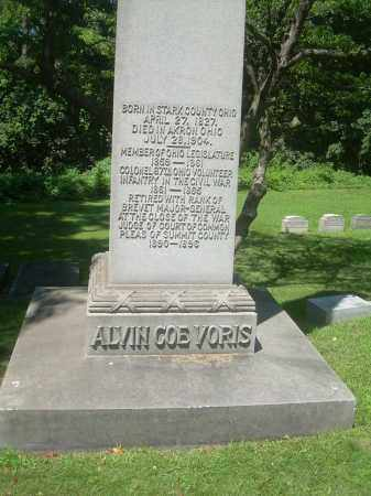 VORIS, ALVIN COE - Summit County, Ohio | ALVIN COE VORIS - Ohio Gravestone Photos