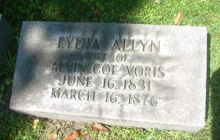VORIS, LYDIA - Summit County, Ohio | LYDIA VORIS - Ohio Gravestone Photos