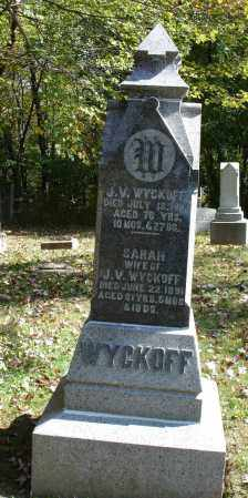 WYCKOFF, J V - Summit County, Ohio | J V WYCKOFF - Ohio Gravestone Photos