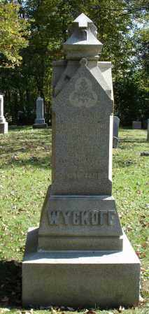 WYCKOFF, JOHN - Summit County, Ohio | JOHN WYCKOFF - Ohio Gravestone Photos
