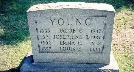 POUCHOT YOUNG, JOSEPHINE - Summit County, Ohio | JOSEPHINE POUCHOT YOUNG - Ohio Gravestone Photos