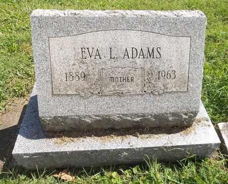 ADAMS, EVA L. - Trumbull County, Ohio | EVA L. ADAMS - Ohio Gravestone Photos